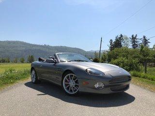 2003 Aston Martin DB7 VANTAGE - 100% ORIGINAL, ALL STOCK VINS, LEATHER