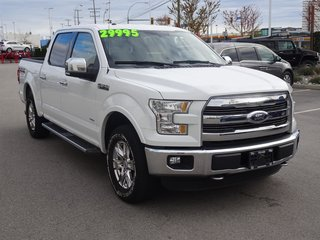 2015 Ford F150 4X4 - SUPERCREW LARIAT - 145 WB