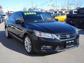 2013 Honda Accord TOURING - NAVI, BLUETOOTH, B/U CAMERA, LEATHER