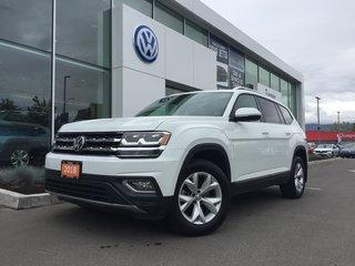 2018 Volkswagen Atlas HIGHLINE W/NAVIGATION 7 SEATS