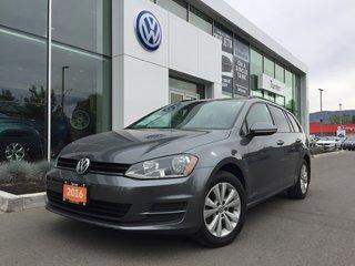 2016 Volkswagen Golf Sportwagon 1.8T TRENDLINE MANUAL W/CarPlay