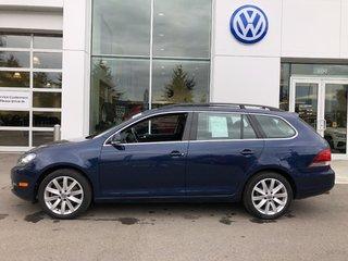 2014 Volkswagen Golf wagon Diesel, well equipped