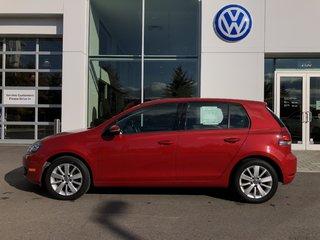 2012 Volkswagen Golf Diesel Low KM Automatic