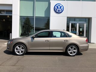 2015 Volkswagen Passat Well equipped, Certified pre-owned