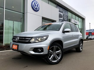2017 Volkswagen Tiguan 4-motion all wheel drive, loaded