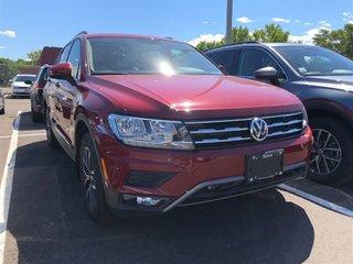 2018 Volkswagen Tiguan 2.0TSI COMFORTLINE 8-SPEED AUTOMATIC 4MOTION