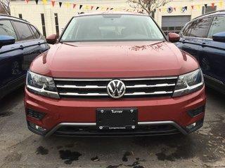 2018 Volkswagen Tiguan 2.0TSI TRENDLINE 8-SPEED AUTOMATIC 4MOTION