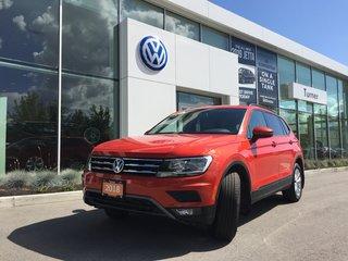 2018 Volkswagen Tiguan **DEMO** TRENDLINE 4MOTION