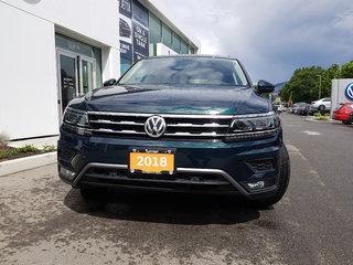 2018 Volkswagen Tiguan HIGHLINE 4MOTION W/ SUNROOF