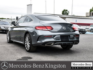2017 Mercedes-Benz C-Class 4MATIC COUPE