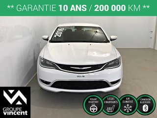 Chrysler 200 LIMITED **GARANTIE 10 ANS** 2016