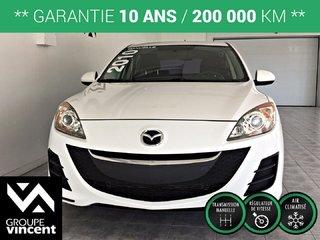 Mazda3 GX ** GARANTIE 10ANS ** 2010