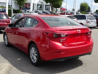 2015  Mazda3 3 Sedan GS manual with convenience Package