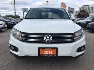 2014 Volkswagen Tiguan TRENDLINE...ALL WHEEL DRIVE...16 INCH ALLOYS