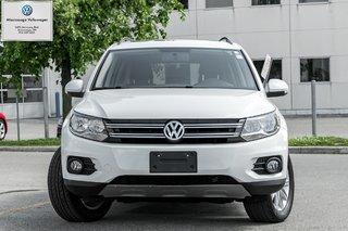 2015 Volkswagen Tiguan Comfortline/PANO ROOF/AWD