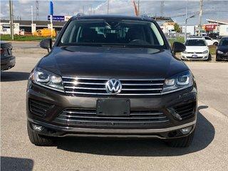 2015 Volkswagen Touareg 3.0 TDI LEATHER, NAVIGATION, PANORAMIC MOONROOF