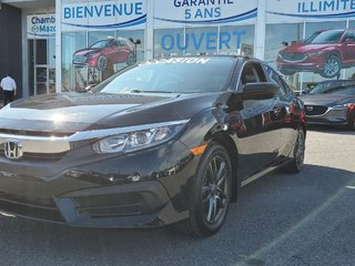 Honda Civic Sedan LX, DEMARREUR, SIEGES CHAUFFANTS, MAGS, BLUETOOTH 2016