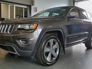 2015 Jeep Grand Cherokee Limited, 4X4, TOIT PANO, NAVI, SIEGES CHAUFFANTS