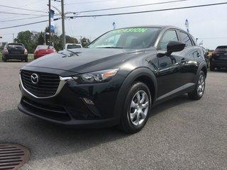 Mazda CX-3 GX, BLUETOOTH, CAMERA, A/C, RÉGULATEUR, GR ÉLECTRI 2016