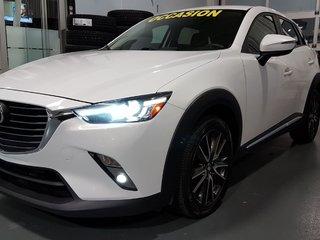 2016 Mazda CX-3 GT, AWD, NAVI, TOIT, SIEGES CHAUFFANTS, AUDIO BOSE