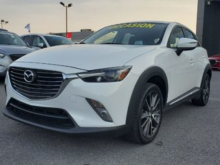 2016 Mazda CX-3 GT, AWD, NAVI, CUIR, AUDIO BOSE, SIEGES CHAUFFANTS