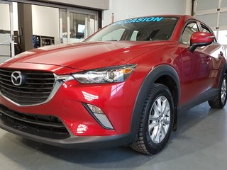 2017 Mazda CX-3 GS, SIEGES CHAUFFANTS, BLUETOOTH, CAMERA, MAGS