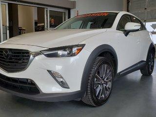 2018 Mazda CX-3 GT, AWD, NAVI, CUIR, AUDIO BOSE, SIEGES CHAUFFANTS