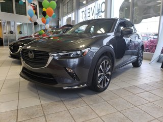 2019 Mazda CX-3 GT/CUIR BLANC//BOSE//NAVIGATION