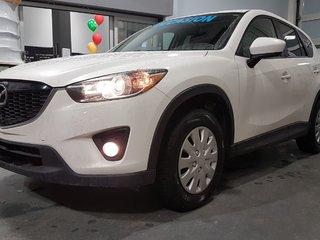 2014 Mazda CX-5 GS, TOIT, SIEGES CHAUFFANTS, BLUETOOTH, CAMERA,A/C