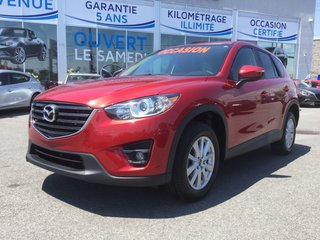 Mazda CX-5 GS, AWD, SIEGES CHAUFFANTS, TOIT, CAMERA,BLUETOOTH 2016