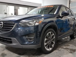 2016 Mazda CX-5 **RÉSERVÉ**, GT, AWD, CUIR, A/C BIZONE, NAV, MAGS