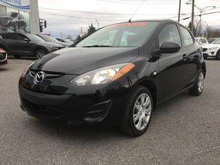 Mazda Mazda2 **RÉSERVÉ**,GX, A/C, RÉGULATEUR, GROUPE ELECTRIQUE 2013
