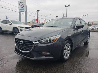 Mazda Mazda3 Sport GX/CAMÉRA DE RECUL/ÉCRAN TACTILE 2018