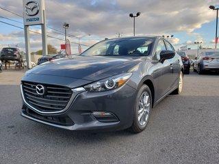 2018 Mazda Mazda3 Sport GS||MANUEL||SIÈGE CHAUFFANT