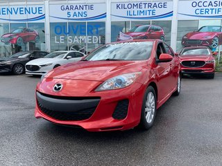 Mazda3 GS-SKY, TOIT, SIEGES CHAUFFANTS, BLUETOOTH, MAGS 2012