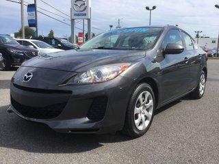 Mazda Mazda3 **RÉSERVÉ**,GX, A/C, RÉGULATEUR, GROUPE ELECTRIQUE 2013