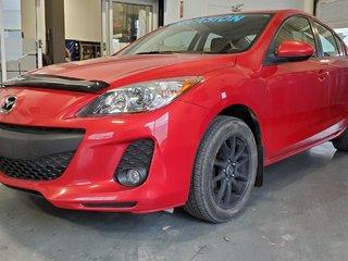 Mazda Mazda3 GS-SKY, DEMARREUR, BLUETOOTH, SIEGES CHAUFFANTS 2013
