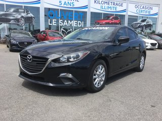 Mazda Mazda3 GS-SKY, BLUETOOTH, CAMERA, A/C, MAGS, RÉGULATEUR 2014