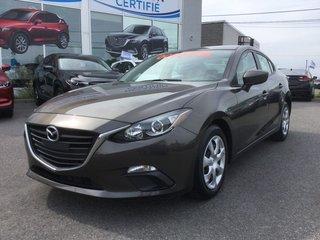 Mazda Mazda3 GX, BLUETOOTH, A/C, 2015
