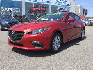 Mazda Mazda3 **RÉSERVÉ**, GS, MAGS, BLUETOOTH, CAMÉRA DE RECUL 2015