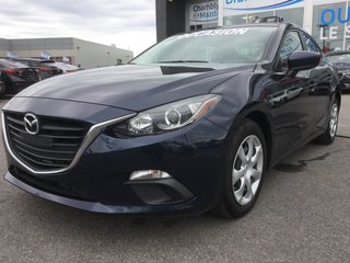Mazda Mazda3 GX, BLUETOOTH, A/C, COMMANDE AUDIO AU VOLANT 2015