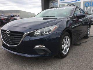 2015 Mazda Mazda3 GX, BLUETOOTH, A/C, COMMANDE AUDIO AU VOLANT