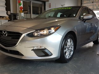 Mazda Mazda3 GS, NAVIGATION, SIEGES CHAUFFANTS, BLUETOOTH, MAGS 2015