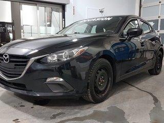 Mazda Mazda3 GS, SIEGES CHAUFFANTS, CAMÉRA DE RECUL, BLUETOOTH 2015