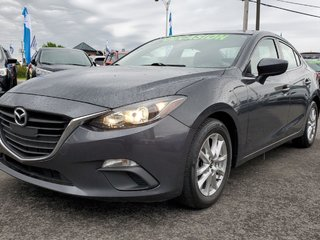 Mazda3 GS, SIEGES CHAUFFANTS, CAMERA, BLUETOOTH, MAGS,A/C 2015