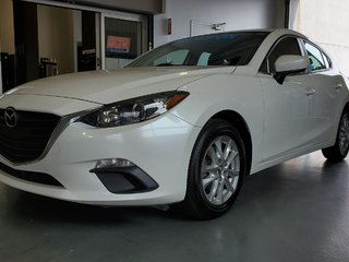 2015  Mazda3 GS, BLUETOOTH, CAMERA, MAGS, A/C, GR ELECTRIQUE