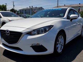 2015  Mazda3 GS, SIÈGES CHAUFFANTS, BLUETOOTH, MAGS, CAMERA,A/C