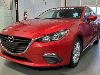 2015  Mazda3 GS, BLUETOOTH, NAV, SIEGES CHAUFFANTS, CAMERA