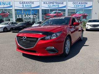 2015  Mazda3 GS, NAVIGATION, DEMARREUR, SIEGES CHAUFFANTS, MAGS