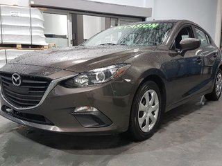 2016 Mazda Mazda3 GX, A/C, CAMERA, BLUETOOTH, REGULATEUR, GR ELECTRI
